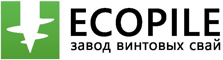 Ecopile логотип, экопайл логотип, винтовые сваи логотип